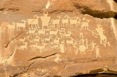 Nine Mile Canyon petroglyphs