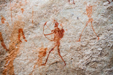 Pictographs in South Africa