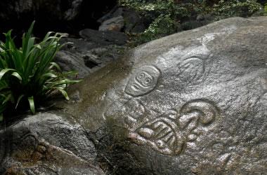 Virgin Islands petroglyph