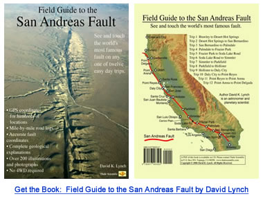 San Andreas Fault Line Fault Zone Map And Photos - Andreas fault map