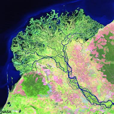 Selenga River Delta