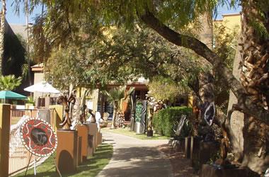 Hotel Tucson Courtyard