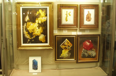 Mineral paintings