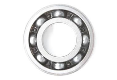 Silver-coated ball bearings