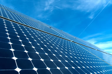 Silver is used in solar panels
