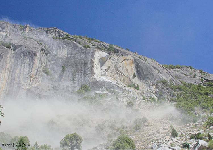 Dust settles after the avalanche