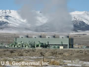 Geothermal production