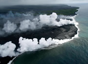 Kilauea volcano eruption