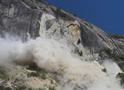 Yosemite Rock Fall Photos