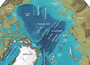 Arctic Ocean Seafloor Map