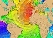 Atlantic ocean tsunamis
