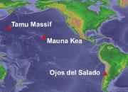 Largest Volcanoes