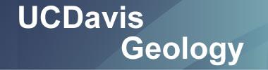 study geology at UC Davis