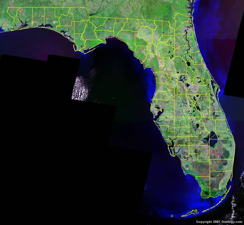 County Map - Map of florida counties and cities