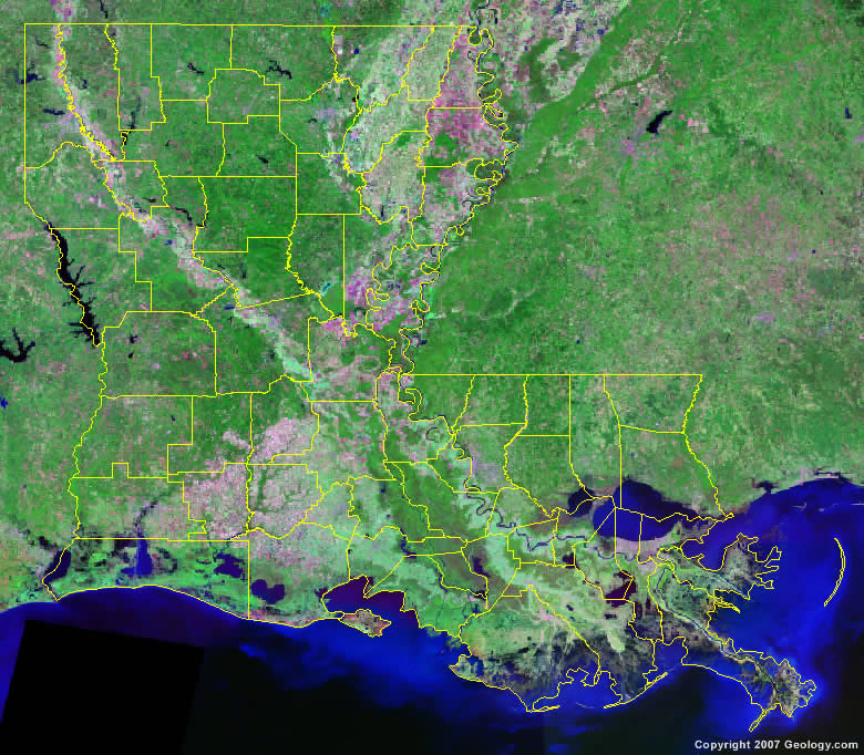 Louisiana Map Parishes.Louisiana Parish Map
