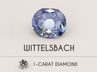 Blue Wittelsbach Diamond
