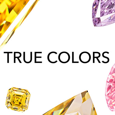 Advertising for ALROSA's 2019 True Colors Auction