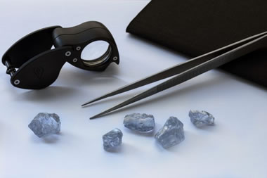 Cullinan blue diamonds
