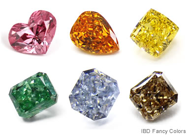IBD Colored Diamonds