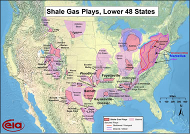 shale gas plays in the United States
