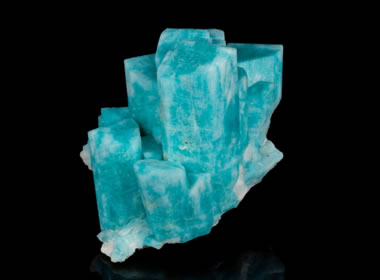 Amazonite crystal cluster