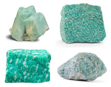 Amazonite mineral specimens