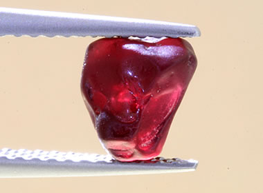 Ant hill garnet rough