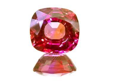 Fancy Sapphire: Pink, yellow, orange, purple, green
