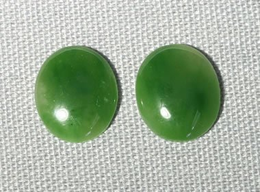 British Columbia jade cabochons