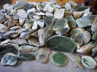 New Zealand nephrite jade