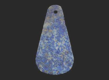 Ancient lapis pendant