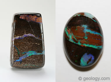 What Is Boulder Opal? Photos and Descriptions