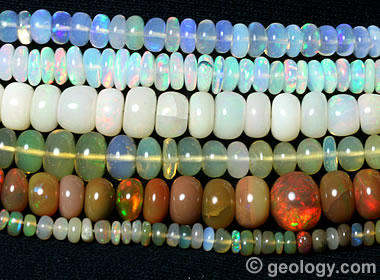 Ethiopian Opals - Precious, Fire and Common Opal