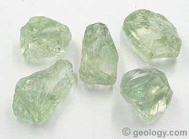 Captivating Prasiolite Rough Good Looking
