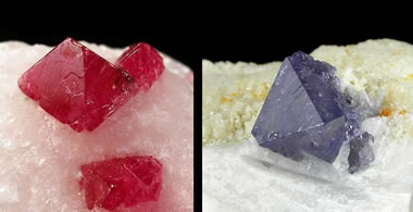 crystals of spinel