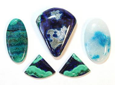 Arizona Gemstones Turquoise Peridot Petrified Wood