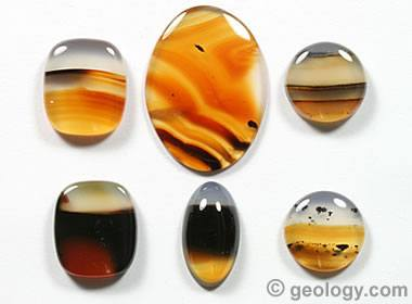 Montana agate collection