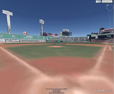 Fenway Park from the Batter's Box