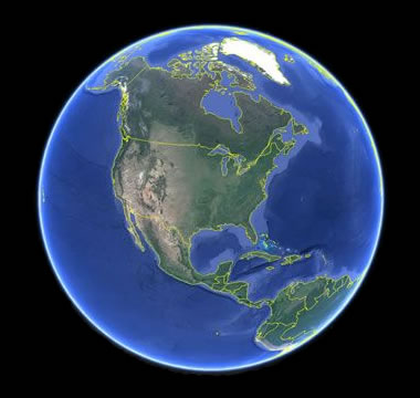 Geology And Earth Science News Articles Photos Maps And More - Google earth map of southeast us