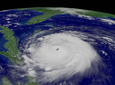 Hurricane named Frances
