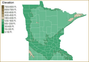 Map Of Minnesota Lakes Streams And Rivers - Minnesota rivers map