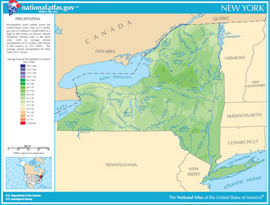 Where Is The Mohawk River Located On A Map