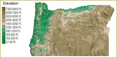 Map Of Oregon Lakes Streams And Rivers - Oregon lakes map