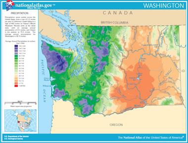 Washington Lake Map River Map And Water Resources