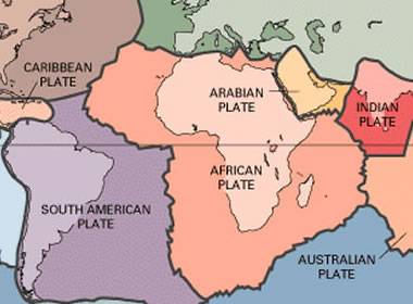 Plate Tectonics Map