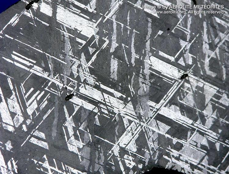 Iron Meteorites Origin Classification Pictures Adorable Widmanstatten Pattern