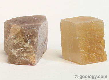 feldspar cleavage