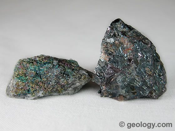 Bornite with Iridescent tarnish