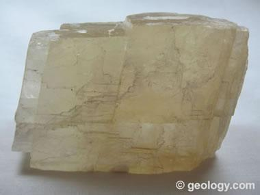 calcite with cleavage
