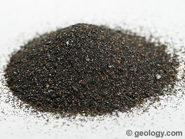 Cassiterite sand